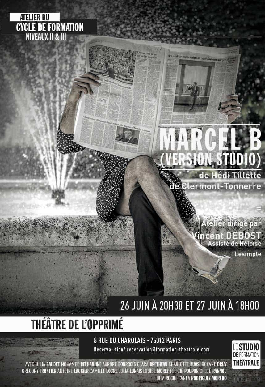 MARCEL B (version Studio)